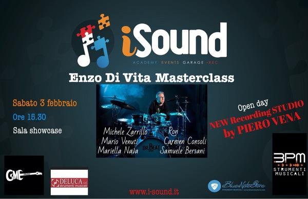 MasterClass con Enzo Di Vita