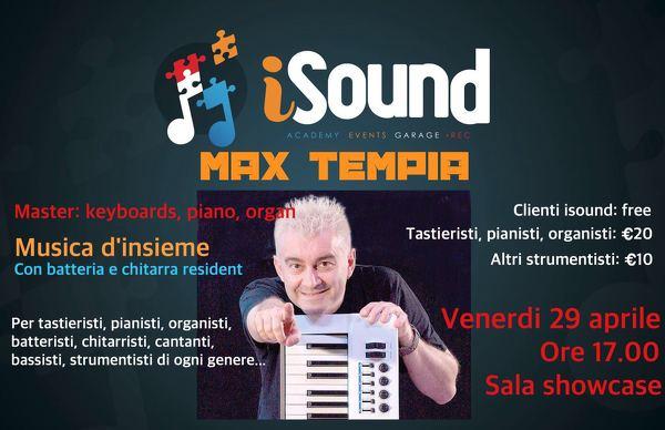 Masterclass con Max Tempia