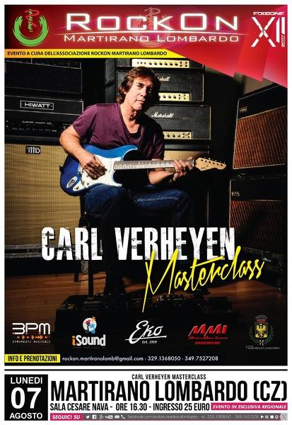 Masterclass Carl Verheyen
