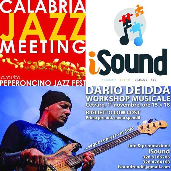 Masterclass con Dario Deidda