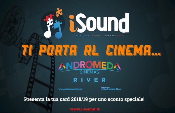 iSound ti porta al cinema!