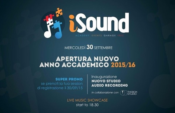 iSound open day